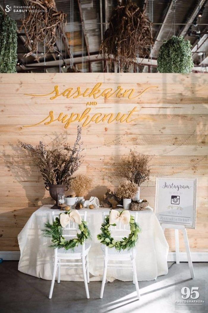 backdrop งานแต่ง,ตกแต่งงานแต่ง,งานหมั้น รีวิวงานแต่ง กิมมิคสนุกทุก Sequence ปังจนเพื่อนยังต้องยกนิ้ว @Vivarium by Chef Ministry