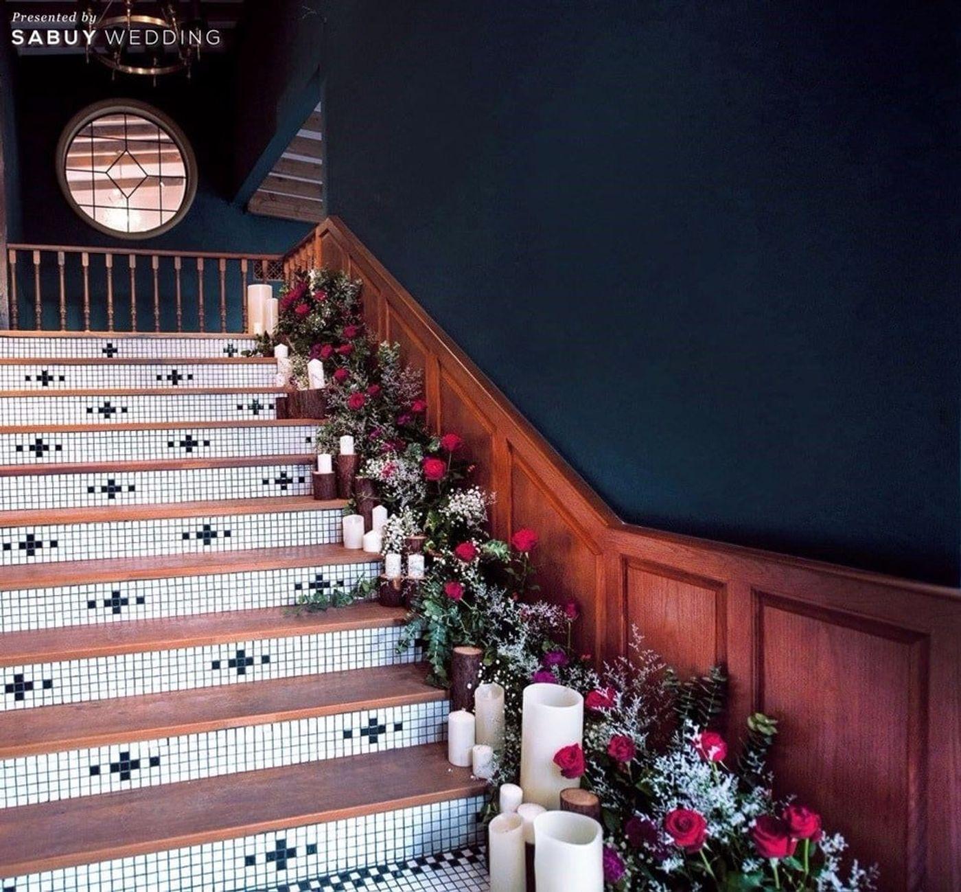 สถานที่แต่งงาน,สถานที่จัดงานแต่งงาน,ตกแต่งงานแต่ง,จัดดอกไม้งานแต่ง รีวิวงานแต่งสุดเก๋ สไตล์ยุโรป @The Apothecary Venue