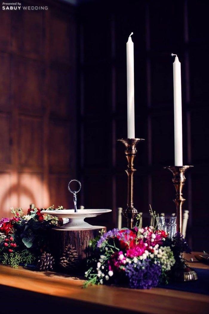 ตกแต่งงานแต่ง,จัดดอกไม้งานแต่ง รีวิวงานแต่งสุดเก๋ สไตล์ยุโรป @The Apothecary Venue
