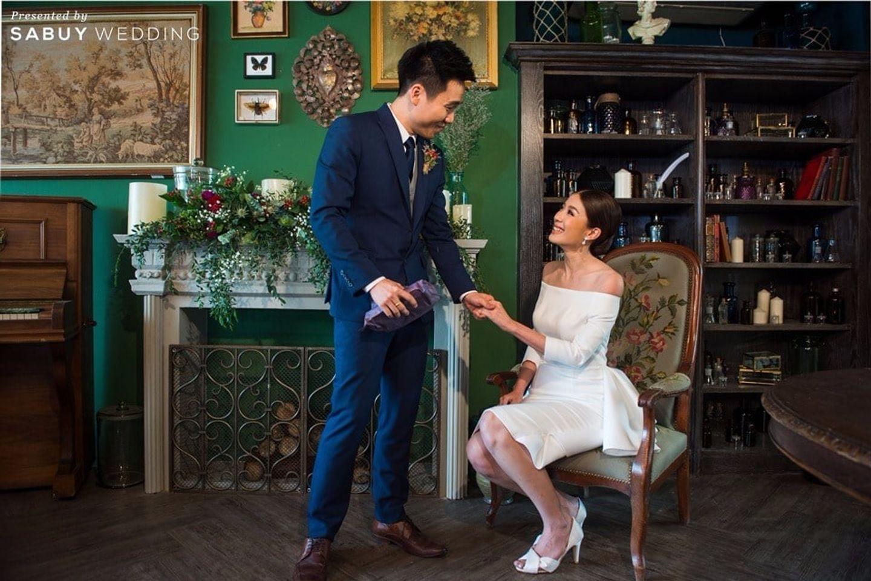 ชุดหมั้น,งานหมั้น,สถานที่แต่งงาน,สถานที่จัดงานแต่งงาน รีวิวงานแต่งสุดเก๋ สไตล์ยุโรป @The Apothecary Venue