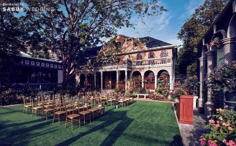 สถานที่แต่งงาน,สถานที่จัดงานแต่งงาน,งานแต่ง outdoor,งานแต่งในสวน รีวิวงานแต่งสุดเก๋ สไตล์ยุโรป @The Apothecary Venue