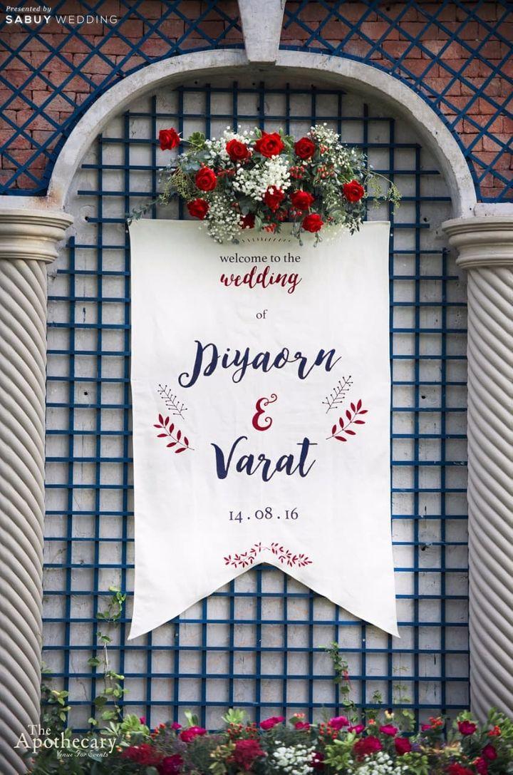 ตกแต่งงานแต่ง,backdrop งานแต่ง,จัดดอกไม้งานแต่ง รีวิวงานแต่งสุดเก๋ สไตล์ยุโรป @The Apothecary Venue