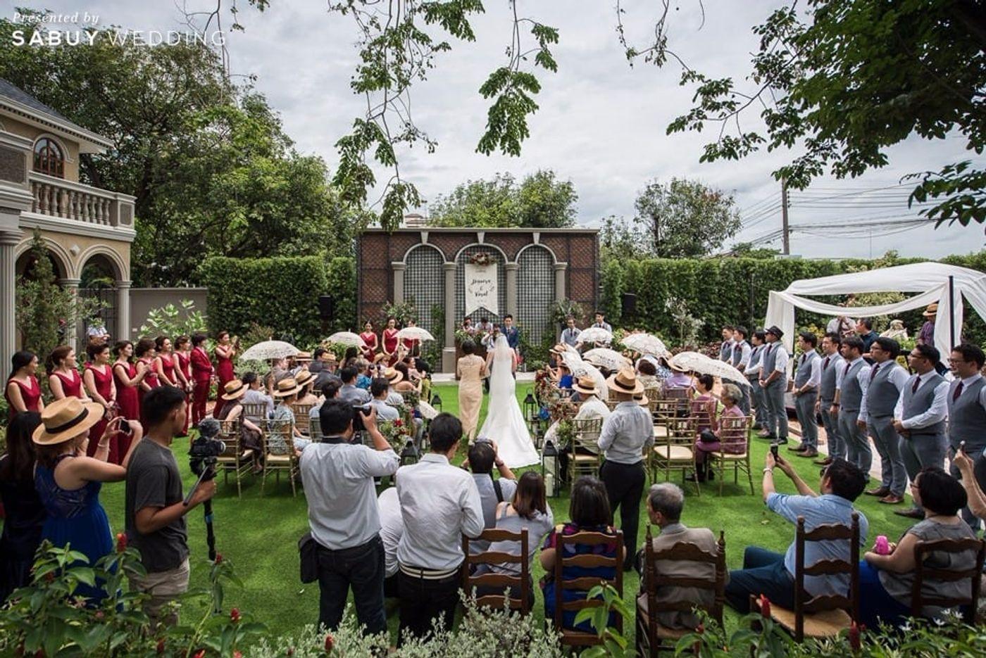 สถานที่แต่งงาน,สถานที่จัดงานแต่งงาน,งานแต่งในสวน,งานแต่ง outdoor,งานแต่งงาน,พิธีแต่งงาน รีวิวงานแต่งสุดเก๋ สไตล์ยุโรป @The Apothecary Venue