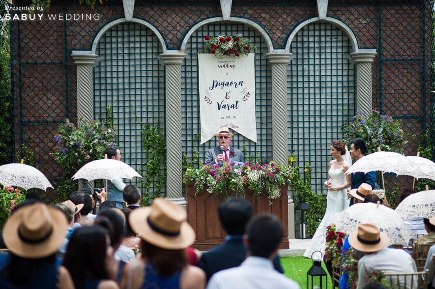 พิธีแต่งงาน,งานแต่งงาน,งานแต่ง outdoor,งานแต่งในสวน,บ่าวสาว,ตกแต่งงานแต่ง,backdrop งานแต่ง รีวิวงานแต่งสุดเก๋ สไตล์ยุโรป @The Apothecary Venue