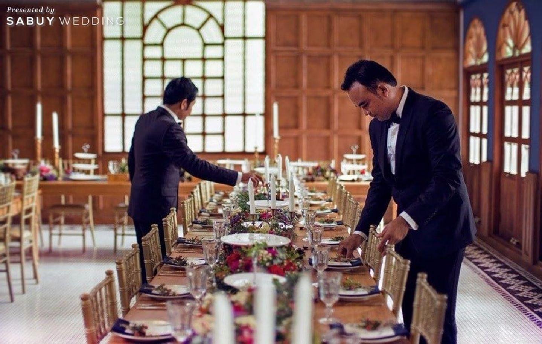 long-table รีวิวงานแต่งสุดเก๋ สไตล์ยุโรป @The Apothecary Venue
