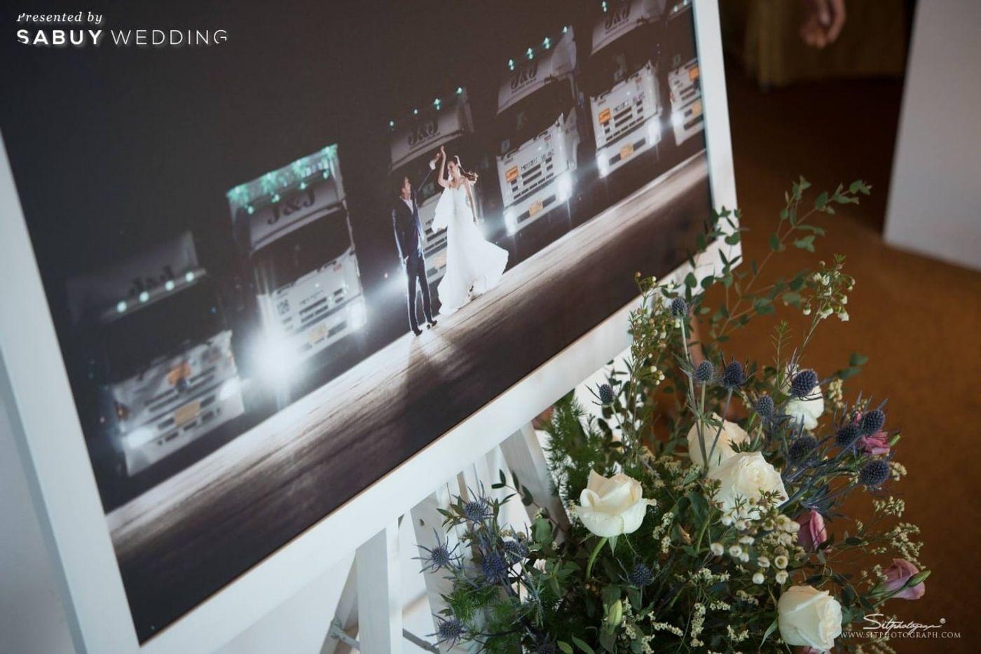 แกลอรี่งานแต่ง,จัดดอกไม้งานแต่ง รีวิวงานแต่งแห่งปีของอยุธยา หรูหราด้วยโทนสี Rose Gold @Krungsri River Hotel