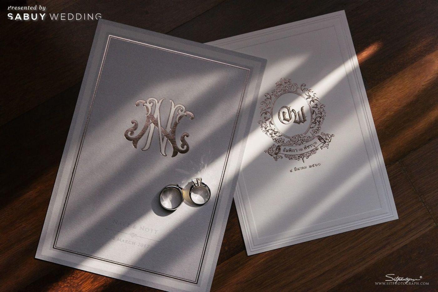 การ์ดแต่งงาน,แหวนแต่งงาน รีวิวงานแต่งแห่งปีของอยุธยา หรูหราด้วยโทนสี Rose Gold @Krungsri River Hotel