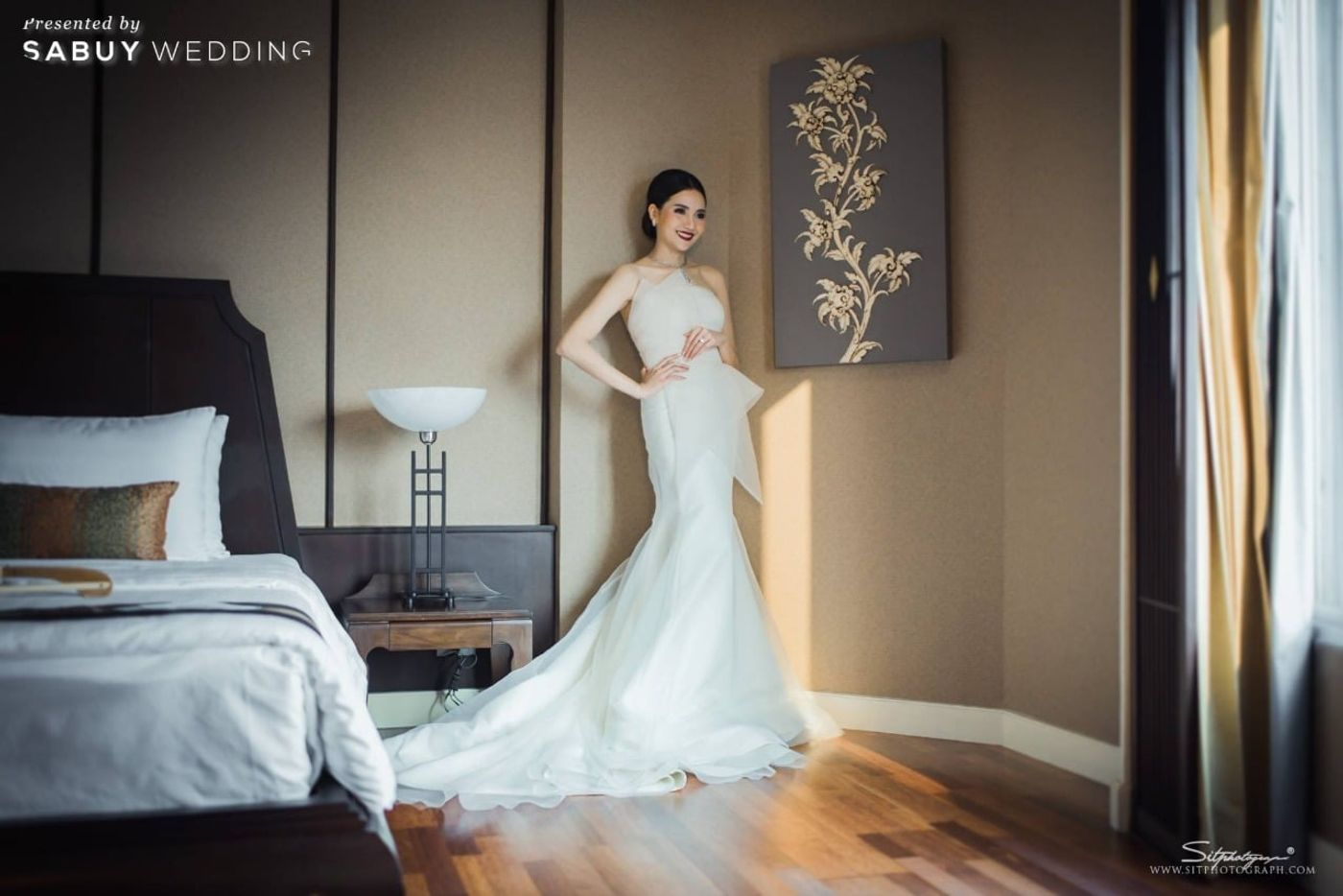 เจ้าสว,ชุดเจ้าสาว รีวิวงานแต่งแห่งปีของอยุธยา หรูหราด้วยโทนสี Rose Gold @Krungsri River Hotel