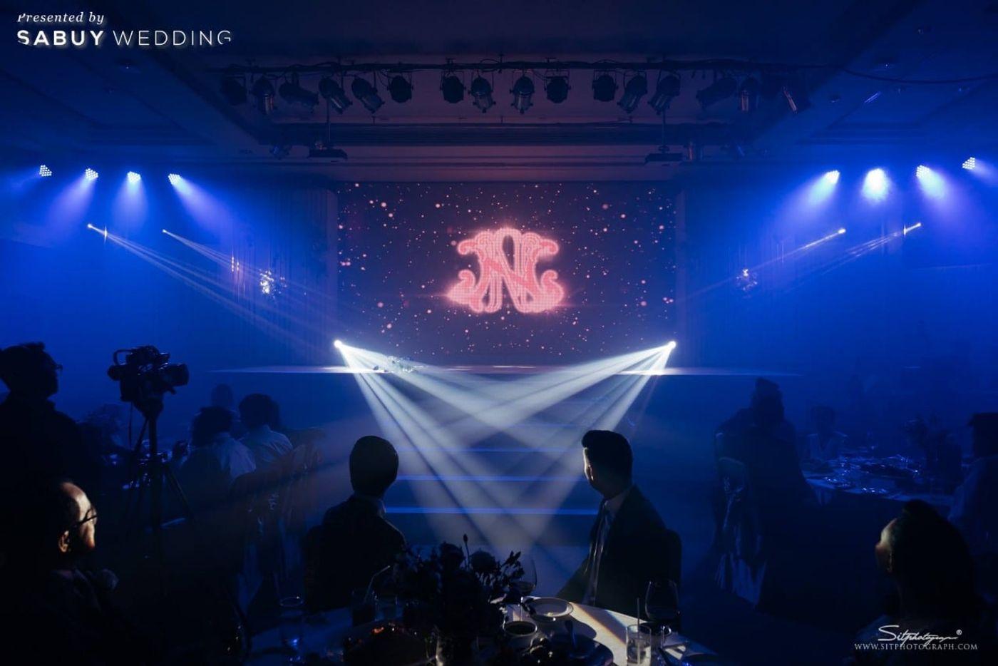 โต๊ะจีน,งานแต่งงาน,เวทีงานแต่ง,backdrop งานแต่ง รีวิวงานแต่งแห่งปีของอยุธยา หรูหราด้วยโทนสี Rose Gold @Krungsri River Hotel