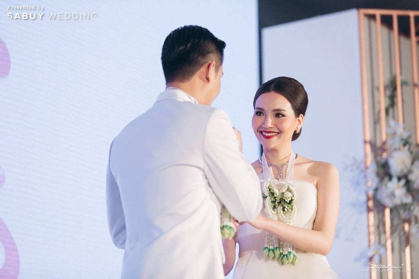บ่าวสาว,เจ้าสาว,งานแต่งงาน รีวิวงานแต่งแห่งปีของอยุธยา หรูหราด้วยโทนสี Rose Gold @Krungsri River Hotel