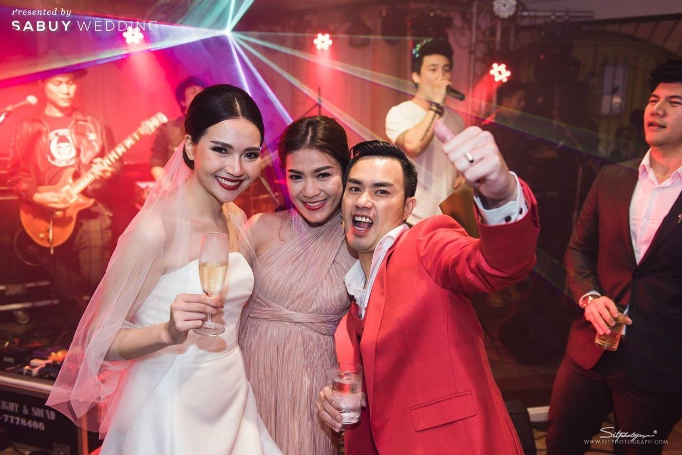 อาฟเตอร์ปาร์ตี้ รีวิวงานแต่งแห่งปีของอยุธยา หรูหราด้วยโทนสี Rose Gold @Krungsri River Hotel
