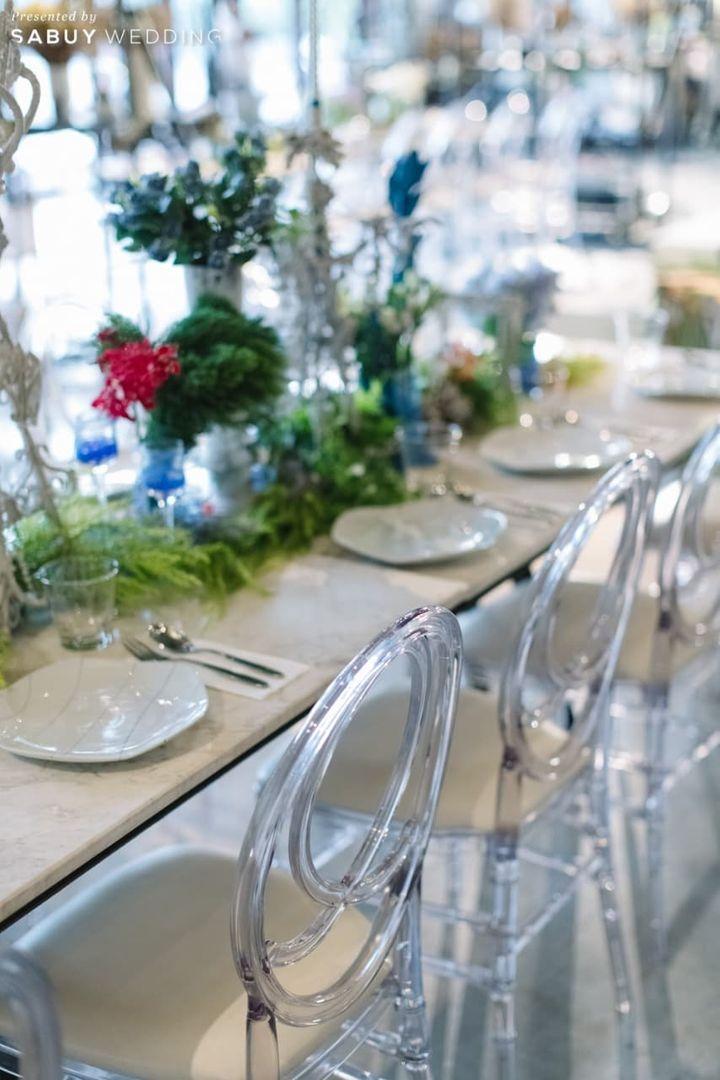 long-table รีวิวงานแต่งโรแมนติกแฟนตาซี ที่ได้แรงบันดาลใจจาก Harry Potter! @Vivarium by Chef Ministry