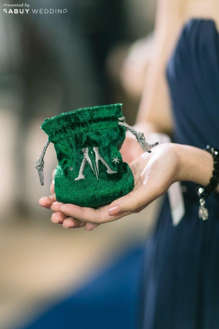 กระเป๋า รีวิวงานแต่งโรแมนติกแฟนตาซี ที่ได้แรงบันดาลใจจาก Harry Potter! @Vivarium by Chef Ministry