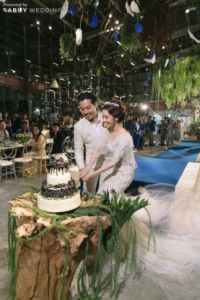 พิธีแต่งงาน,บ่าวสาว,ชุดบ่าวสาว,ตัดเค้กงานแต่ง,ตกแต่งงานแต่ง รีวิวงานแต่งโรแมนติกแฟนตาซี ที่ได้แรงบันดาลใจจาก Harry Potter! @Vivarium by Chef Ministry