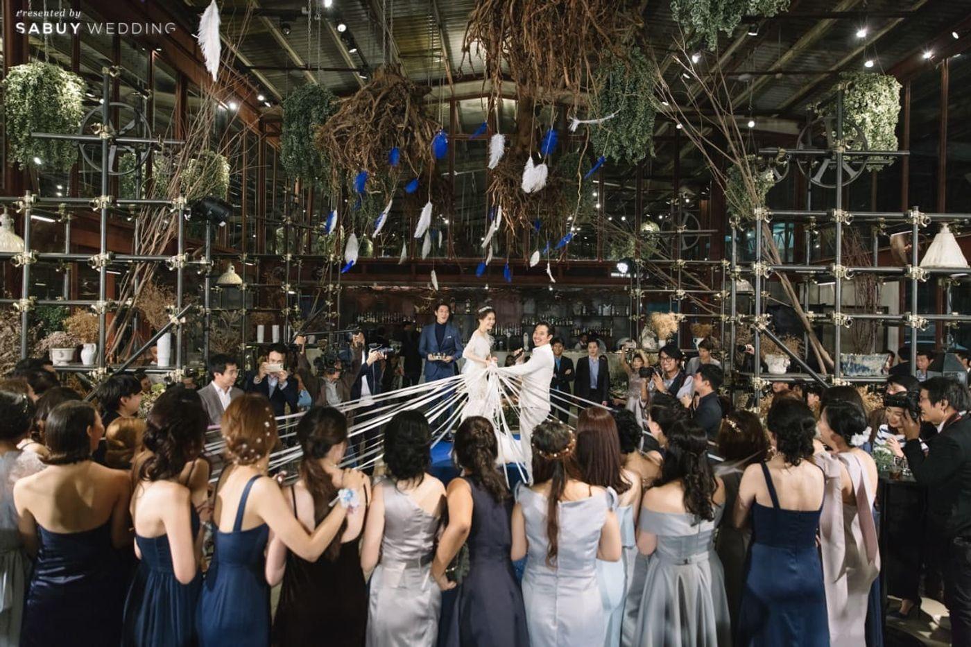 พิธีแต่งงาน,บ่าวสาว,เพื่อนเจ้าสาว,จับริบบิ้นดอกไม้,ตกแต่งงานแต่ง,สถานที่แต่งงาน,สถานที่จัดงานแต่งงาน,ธีมงานแต่ง รีวิวงานแต่งโรแมนติกแฟนตาซี ที่ได้แรงบันดาลใจจาก Harry Potter! @Vivarium by Chef Ministry