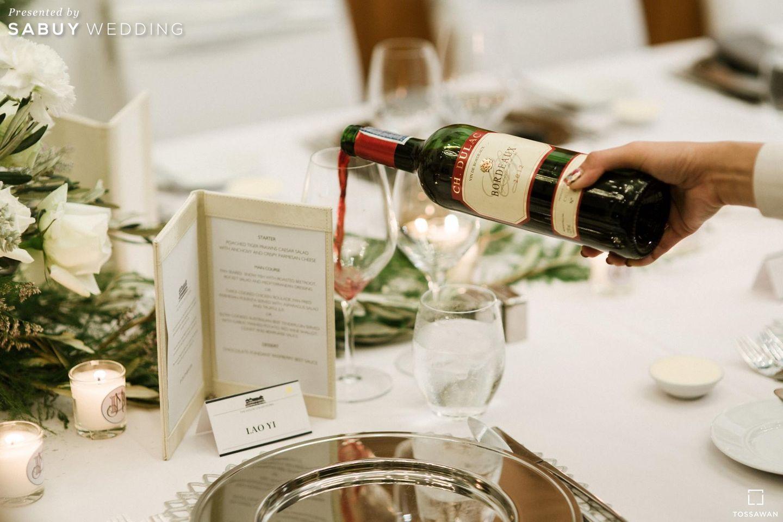 รินไวน์ รีวิวงานแต่ง Long Table สไตล์ฝรั่ง ในสถานที่สุดคลาสสิก @The House on Sathorn