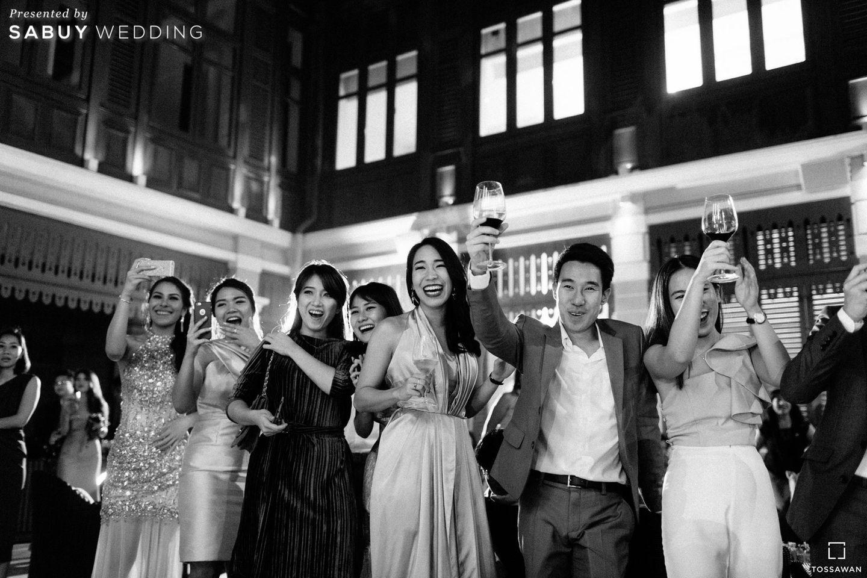 งานแต่งงาน รีวิวงานแต่ง Long Table สไตล์ฝรั่ง ในสถานที่สุดคลาสสิก @The House on Sathorn