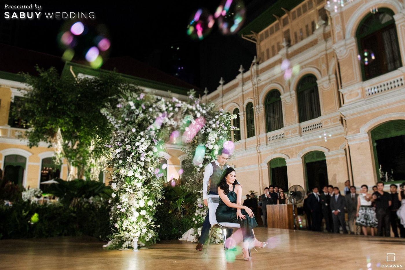 อาฟเตอร์ปาร์ตี้,จัดดอกไม้งานแต่ง,สถานที่แต่งงาน,สถานที่จัดงานแต่งงาน รีวิวงานแต่ง Long Table สไตล์ฝรั่ง ในสถานที่สุดคลาสสิก @The House on Sathorn
