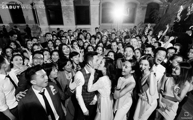 รูปงานแต่ง,บ่าวสาว รีวิวงานแต่ง Long Table สไตล์ฝรั่ง ในสถานที่สุดคลาสสิก @The House on Sathorn