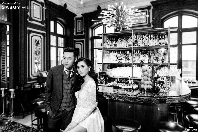 บ่าวสาว,ชุดบ่าวสาว,รูปงานแต่ง รีวิวงานแต่ง Long Table สไตล์ฝรั่ง ในสถานที่สุดคลาสสิก @The House on Sathorn