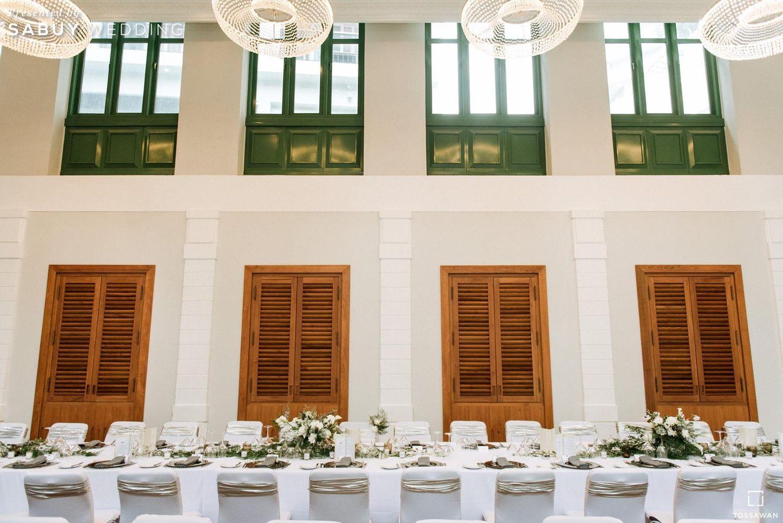 สถานที่แต่งงาน,สถานที่จัดงานแต่งงาน,long-table รีวิวงานแต่ง Long Table สไตล์ฝรั่ง ในสถานที่สุดคลาสสิก @The House on Sathorn