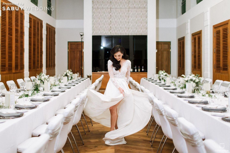 เจ้าสาว,ชุดเจ้าสาว,long-table รีวิวงานแต่ง Long Table สไตล์ฝรั่ง ในสถานที่สุดคลาสสิก @The House on Sathorn