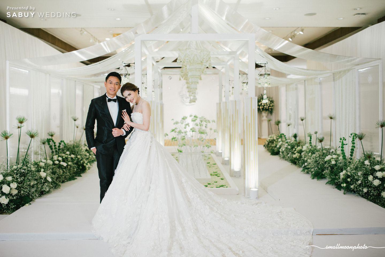 บ่าวสาว,ชุดบ่าวสาว,ชุดเจ้าสาว,ชุดเจ้าบ่าว,ตกแต่งงานแต่ง,จัดดอกไม้งานแต่ง รีวิวงานแต่งเสน่ห์ความเป็นไทย ในงานเลี้ยงฉลองเย็น @Plaza Athénée Bangkok