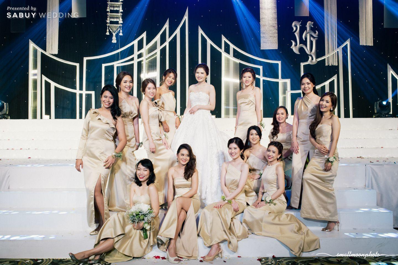 เจ้าสาว,ชุดเจ้าสาว,เพื่อนเจ้าสาว,ชุดเพื่อนเจ้าสาว,ธีมงานแต่ง,backdrop งานแต่ง รีวิวงานแต่งเสน่ห์ความเป็นไทย ในงานเลี้ยงฉลองเย็น @Plaza Athénée Bangkok