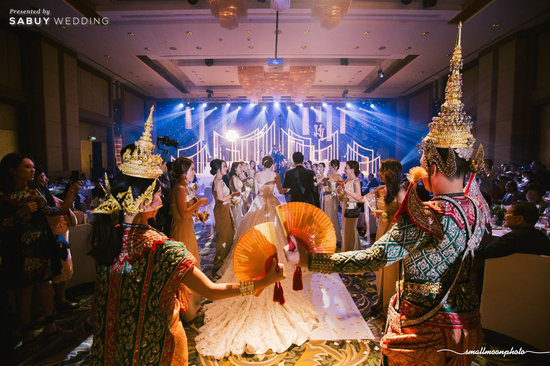 การแสดงรำ,งานแต่งงาน รีวิวงานแต่งเสน่ห์ความเป็นไทย ในงานเลี้ยงฉลองเย็น @Plaza Athénée Bangkok