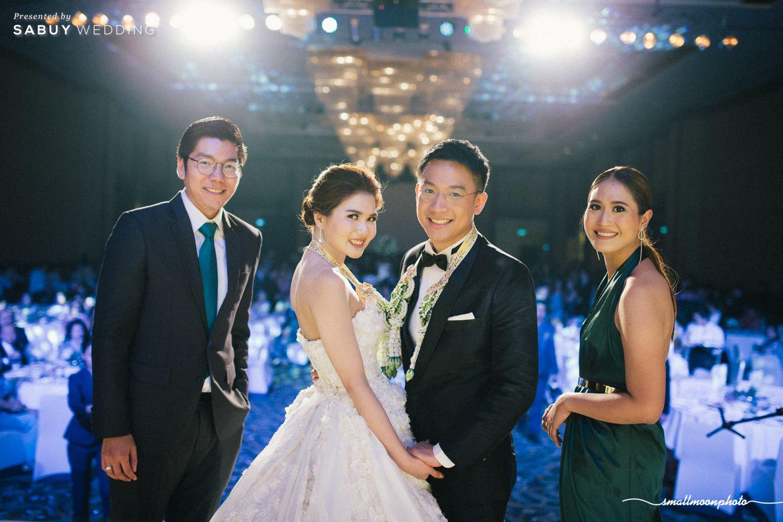 บ่าวสาว,ชุดบ่าวสาว,พิธีกรงานแต่ง รีวิวงานแต่งเสน่ห์ความเป็นไทย ในงานเลี้ยงฉลองเย็น @Plaza Athénée Bangkok