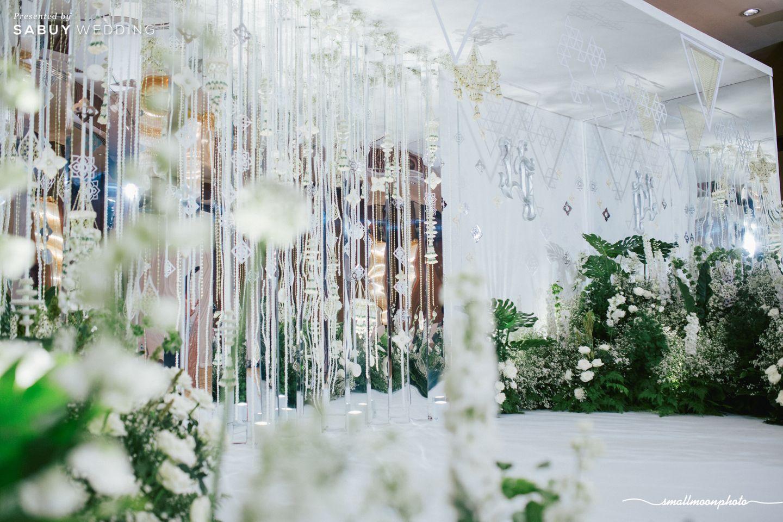 ตกแต่งงานแต่ง,จัดดอกไม้งานแต่ง รีวิวงานแต่งเสน่ห์ความเป็นไทย ในงานเลี้ยงฉลองเย็น @Plaza Athénée Bangkok
