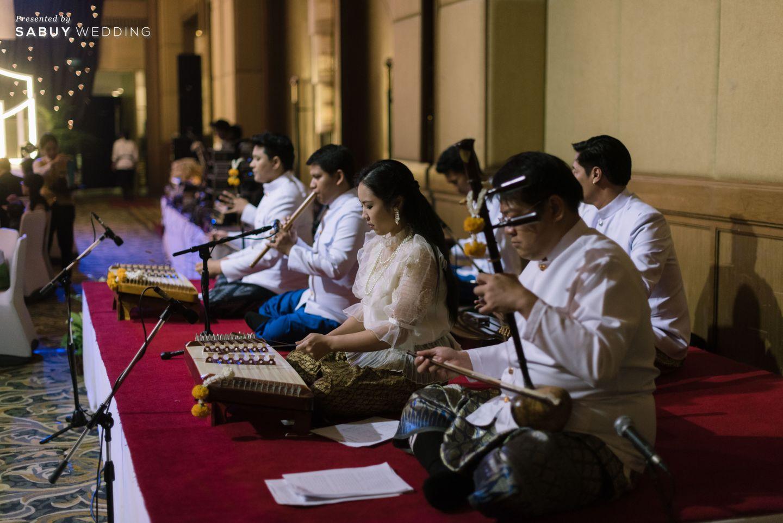 ดนตรีไทย รีวิวงานแต่งเสน่ห์ความเป็นไทย ในงานเลี้ยงฉลองเย็น @Plaza Athénée Bangkok