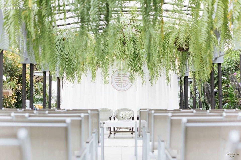 พิธีหมั้น,งานหมั้น,ตกแต่งงานแต่ง รีวิวงานแต่งโรแมนติกมินิมอล อบอุ่นความหวาน ท่ามกลางร่มไม้ในสวน @The Gardens of Dinsor Palace