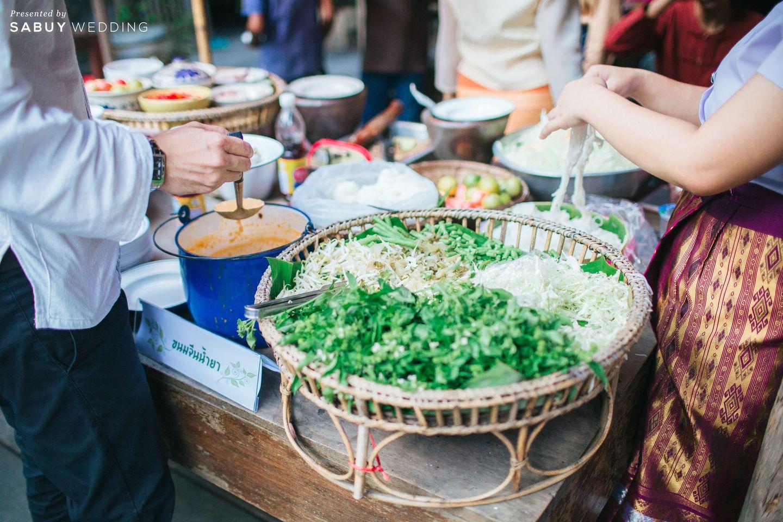 อาหาร,ขนมจีนน้ำยา รีวิวงานแต่งธีมผ้าฝ้ายสบายๆ สไตล์ล้านนา @หอวัฒนธรรมพื้นบ้านไท-ยวน สระบุรี