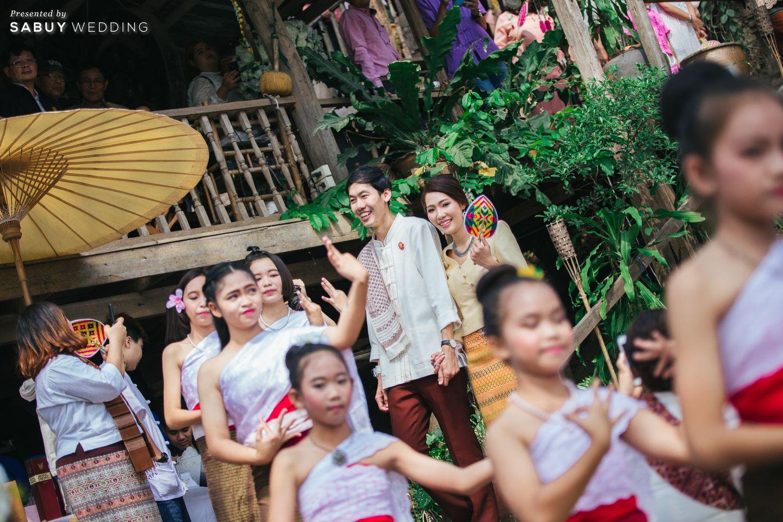 บ่าวสาว,พิธีแต่งงาน,งานแต่งงาน,ชุดบ่าวสาว,พิธีแต่งงานแบบไทย รีวิวงานแต่งธีมผ้าฝ้ายสบายๆ สไตล์ล้านนา @หอวัฒนธรรมพื้นบ้านไท-ยวน สระบุรี