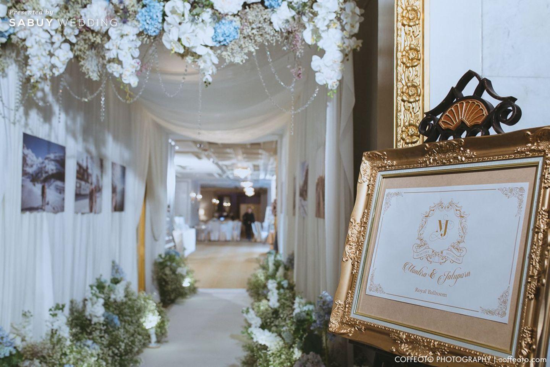 สถานที่แต่งงาน,สถานที่จัดงานแต่งงาน,จัดดอกไม้งานแต่ง,ตกแต่งงาน รีวิวงานแต่ง Winter Wonderland ฉากสวยเป๊ะปัง อลังเว่อร์ @Mandarin Oriental