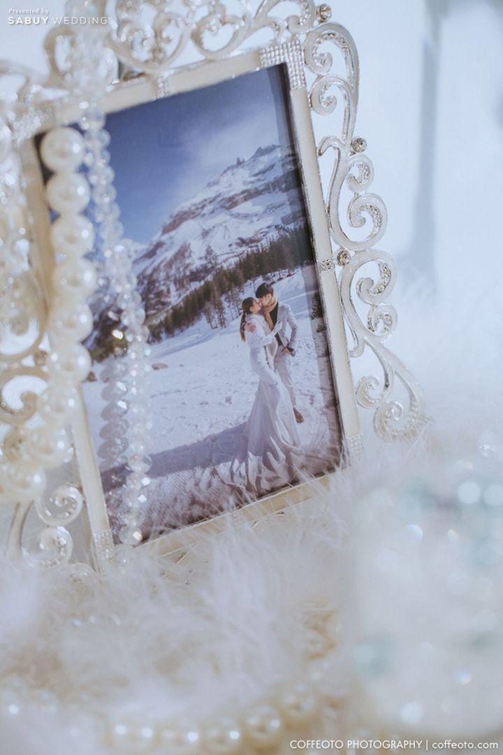 บ่าวสาว,photo-booth รีวิวงานแต่ง Winter Wonderland ฉากสวยเป๊ะปัง อลังเว่อร์ @Mandarin Oriental