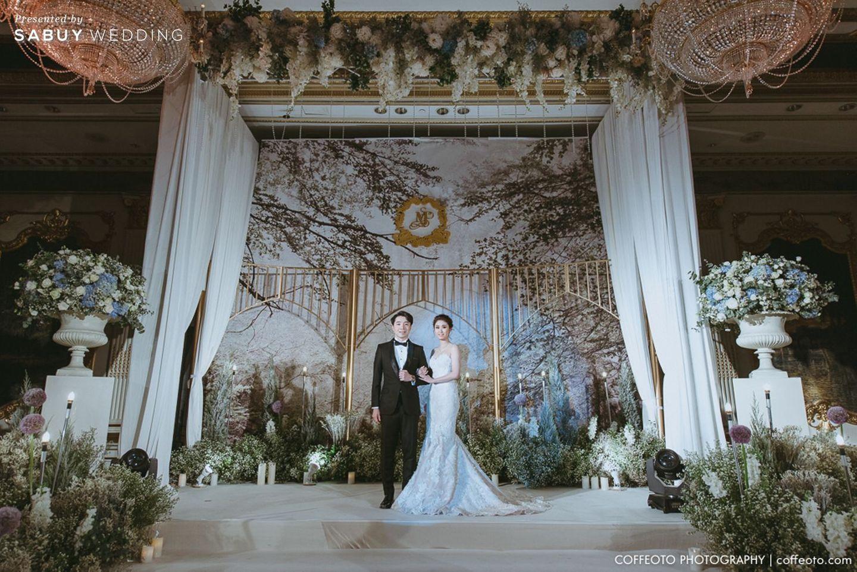 บ่าวสาว,ชุดบ่าวสาว,จัดดอกไม้งานแต่ง,ตกแต่งงานแต่ง,รูปงานแต่ง,สถานที่แต่งงาน,สถานที่จัดงานแต่งงาน รีวิวงานแต่ง Winter Wonderland ฉากสวยเป๊ะปัง อลังเว่อร์ @Mandarin Oriental