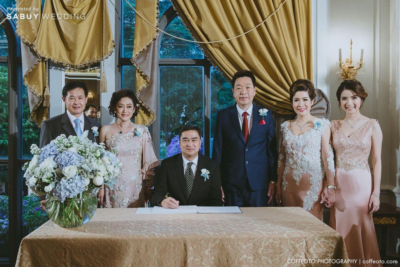 ครอบครัวบ่าวสาว,จัดดอกไม้งานแต่ง รีวิวงานแต่ง Winter Wonderland ฉากสวยเป๊ะปัง อลังเว่อร์ @Mandarin Oriental