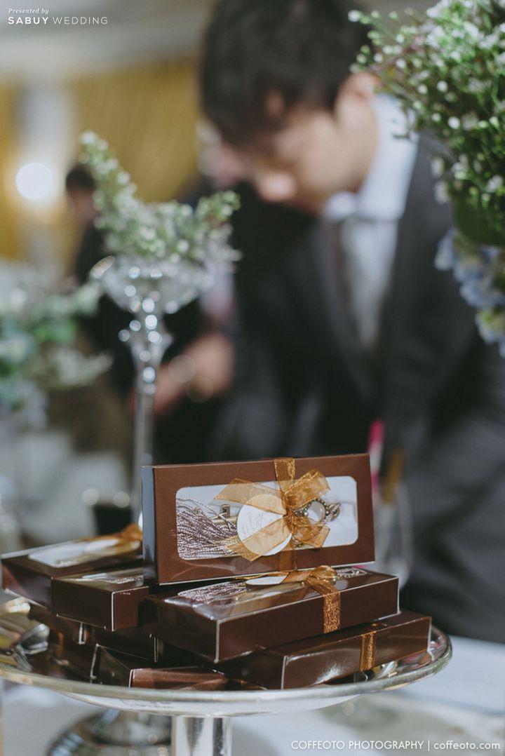 ของชำร่วยงานแต่ง รีวิวงานแต่ง Winter Wonderland ฉากสวยเป๊ะปัง อลังเว่อร์ @Mandarin Oriental