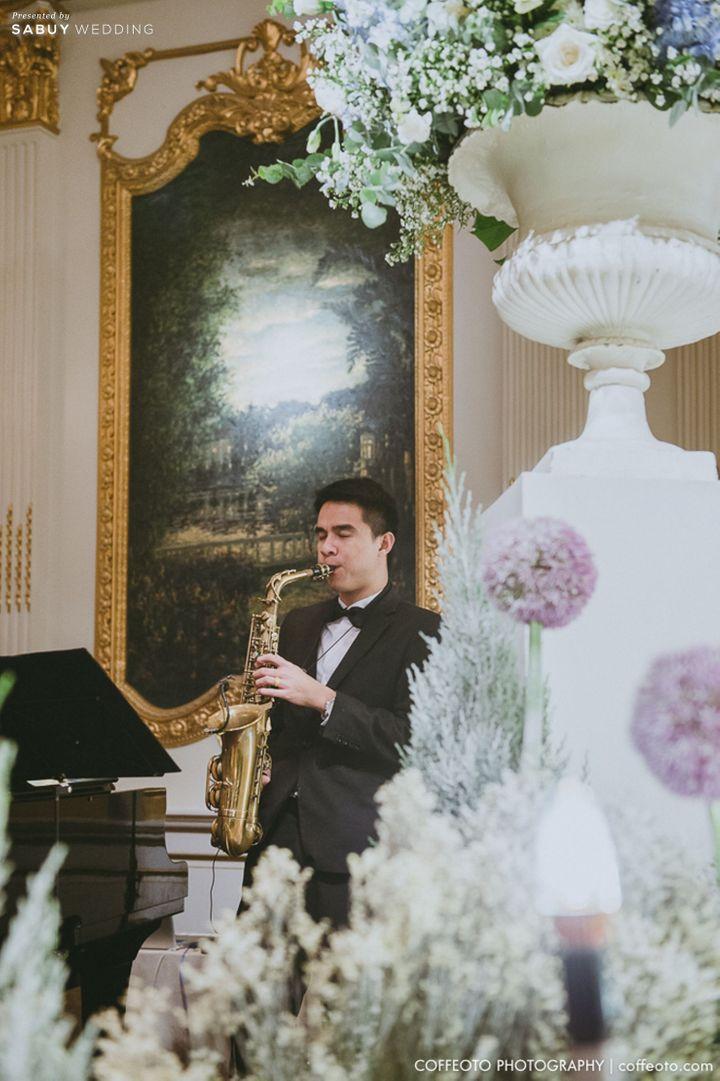ดนตรีงานแต่ง,จัดดอกไม้งานแต่ง รีวิวงานแต่ง Winter Wonderland ฉากสวยเป๊ะปัง อลังเว่อร์ @Mandarin Oriental