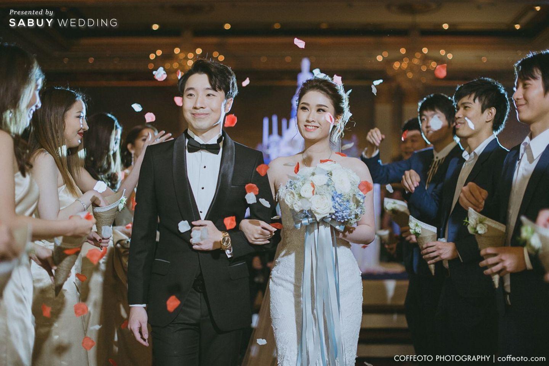 พิธีแต่งงาน,ชุดบ่าวสาว,ชุดเจ้าสาว,ชุดเจ้าบ่าว,บ่าวสาว,ดอกไม้เจ้าสาว รีวิวงานแต่ง Winter Wonderland ฉากสวยเป๊ะปัง อลังเว่อร์ @Mandarin Oriental