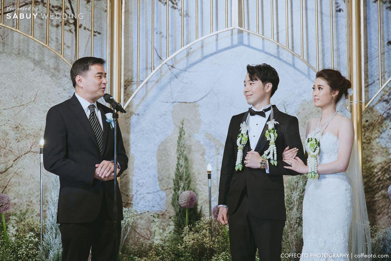 พิธีแต่งงาน,ชุดบ่าวสาว,ชุดเจ้าสาว,ชุดเจ้าบ่าว,บ่าวสาว รีวิวงานแต่ง Winter Wonderland ฉากสวยเป๊ะปัง อลังเว่อร์ @Mandarin Oriental