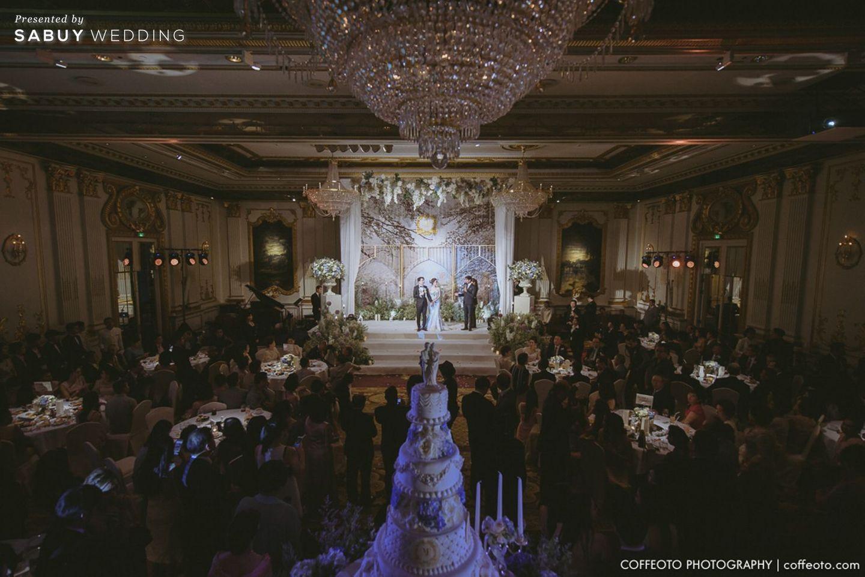พิธีแต่งงาน,บ่าวสาว,สถานที่แต่งงาน,สถานที่จัดงานแต่งงาน รีวิวงานแต่ง Winter Wonderland ฉากสวยเป๊ะปัง อลังเว่อร์ @Mandarin Oriental