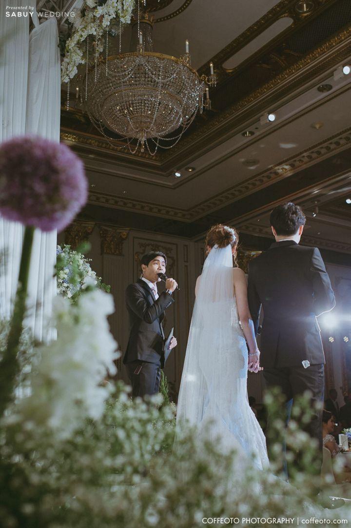พิธีกรงานแต่ง,บ่าวสาว รีวิวงานแต่ง Winter Wonderland ฉากสวยเป๊ะปัง อลังเว่อร์ @Mandarin Oriental
