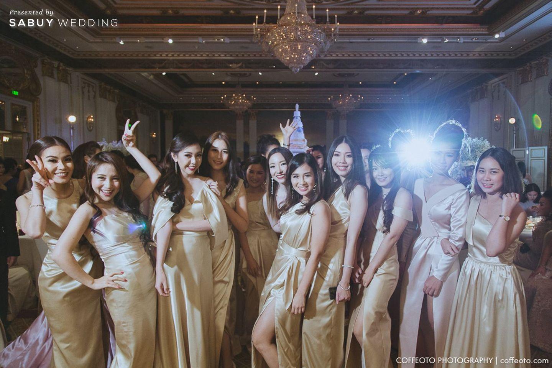 เพื่อนเจ้าสาว,ชุดเพื่อนเจ้าสาว,ธีมงานแต่ง รีวิวงานแต่ง Winter Wonderland ฉากสวยเป๊ะปัง อลังเว่อร์ @Mandarin Oriental