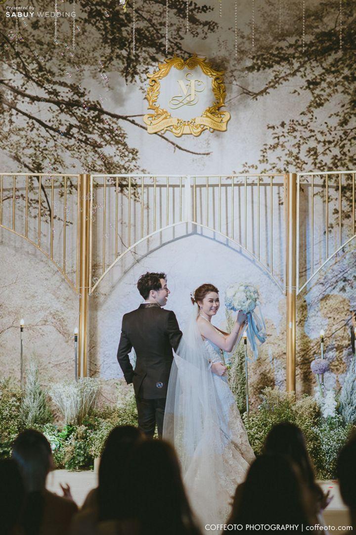 บ่าวสาว,backdrop งานแต่ง,ดอกไม้เจ้าสาว รีวิวงานแต่ง Winter Wonderland ฉากสวยเป๊ะปัง อลังเว่อร์ @Mandarin Oriental