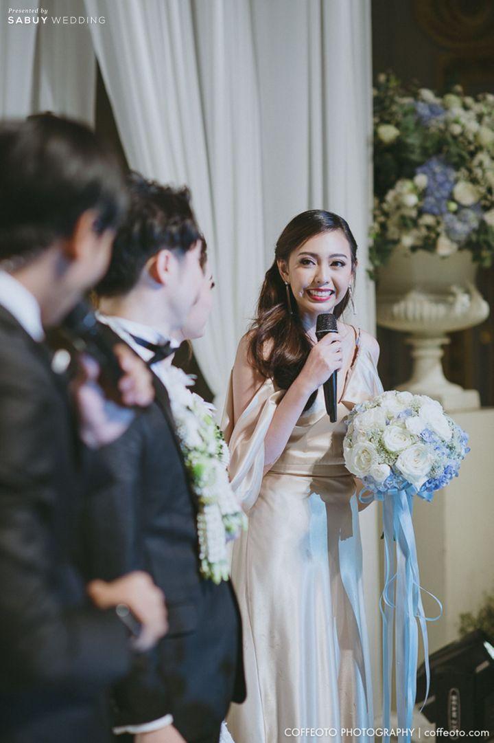 ช่อดอกไม้,เพื่อนเจ้าสาว รีวิวงานแต่ง Winter Wonderland ฉากสวยเป๊ะปัง อลังเว่อร์ @Mandarin Oriental