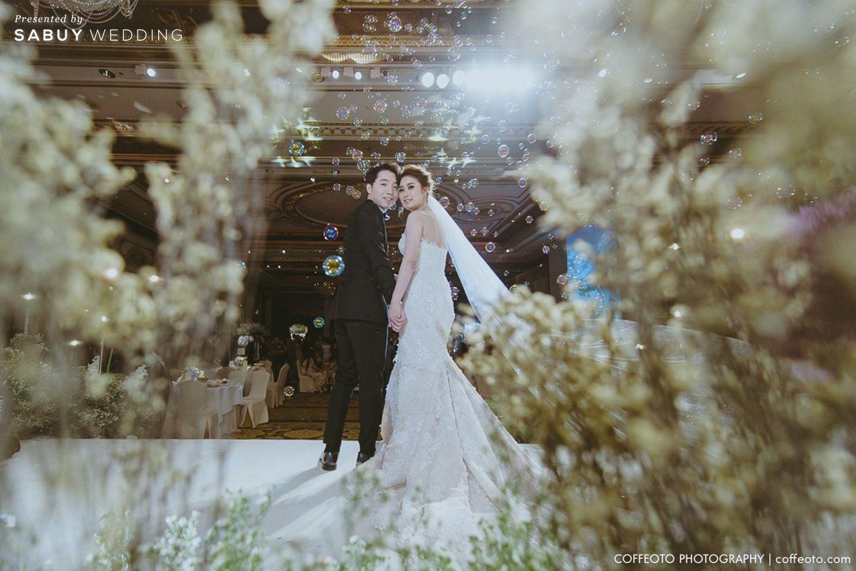 บ่าวสาว,ชุดบ่าวสาว,รูปงานแต่ง รีวิวงานแต่ง Winter Wonderland ฉากสวยเป๊ะปัง อลังเว่อร์ @Mandarin Oriental