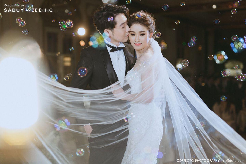 ชุดบ่าวสาว,ชุดเจ้าสาว,ชุดเจ้าบ่าว,บ่าวสาว,รูปงานแต่ง รีวิวงานแต่ง Winter Wonderland ฉากสวยเป๊ะปัง อลังเว่อร์ @Mandarin Oriental